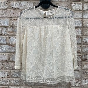 Sea New York Ivory Lace Top 6